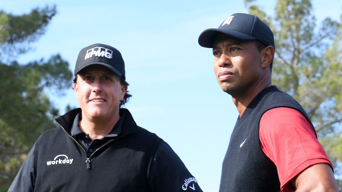 Sources: Tiger, Phil, Tom Brady & Peyton Manning Playing Golf Match in May article feature image
