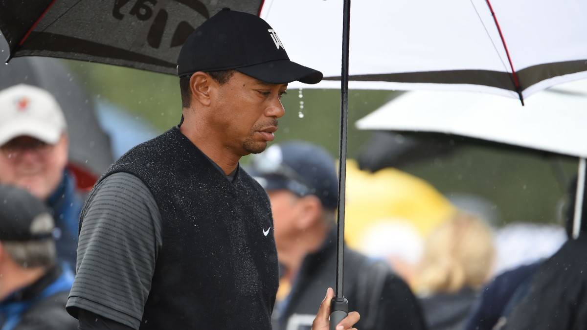 Tiger vs. Phil Weather Delay: New Start Time, What Happens if Match Is Postponed Due to Rain article feature image