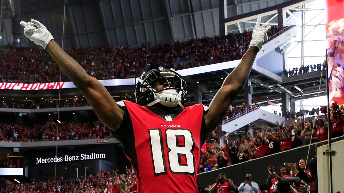 Why You Should Bet Calvin Ridley to Lead NFL in Receiving Yards article feature image