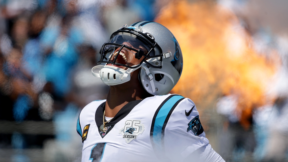 Updated Cam Newton Next Team Odds: Patriots Still Favored to Land Former MVP article feature image