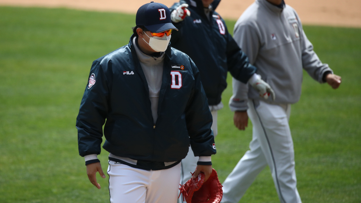KBO Picks, Odds, Predictions & Betting Model (Saturday, May 16): Can Tigers' Ace Yang Shut Down the Bears? article feature image