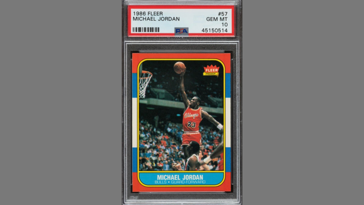 From $51K to $96K in 19 Days: Michael Jordan Rookie Card Market Shatters Another Record article feature image