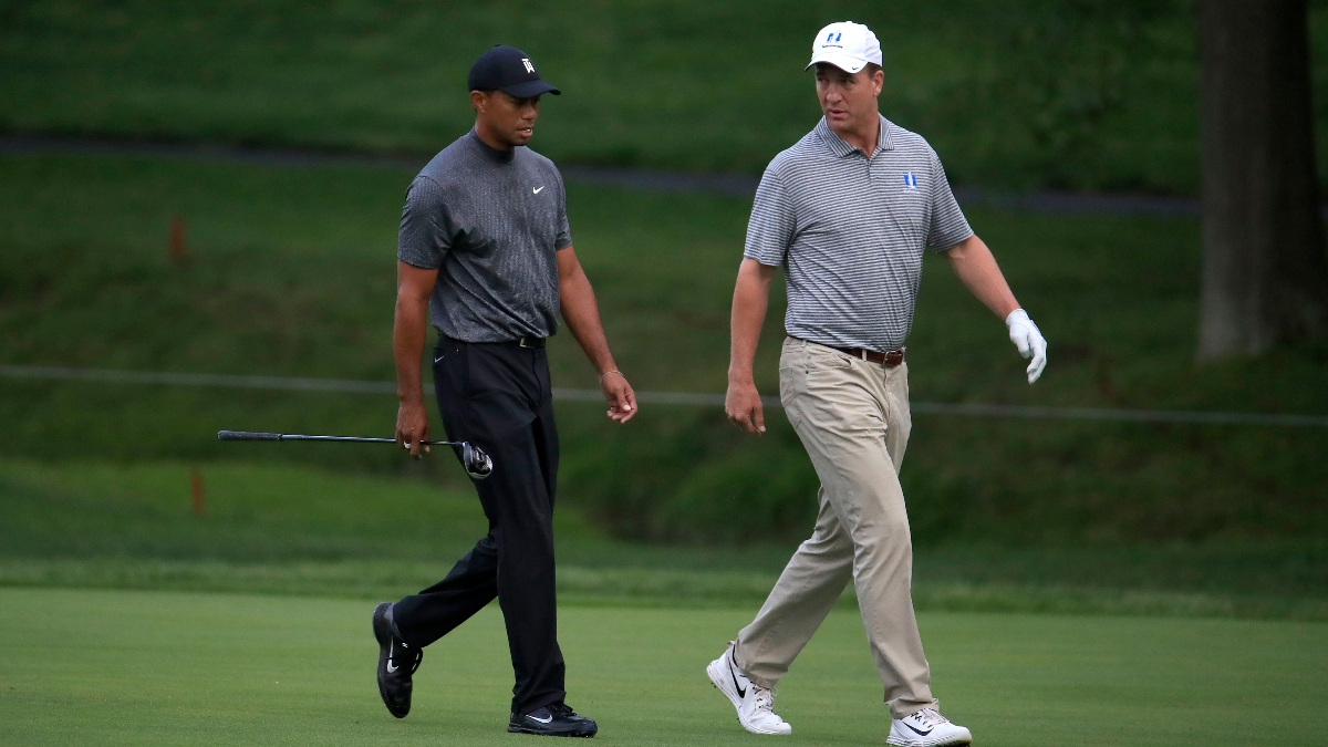 Tiger vs. Phil II Preview: What the Rules and Format Mean for Tom Brady and Peyton Manning article feature image