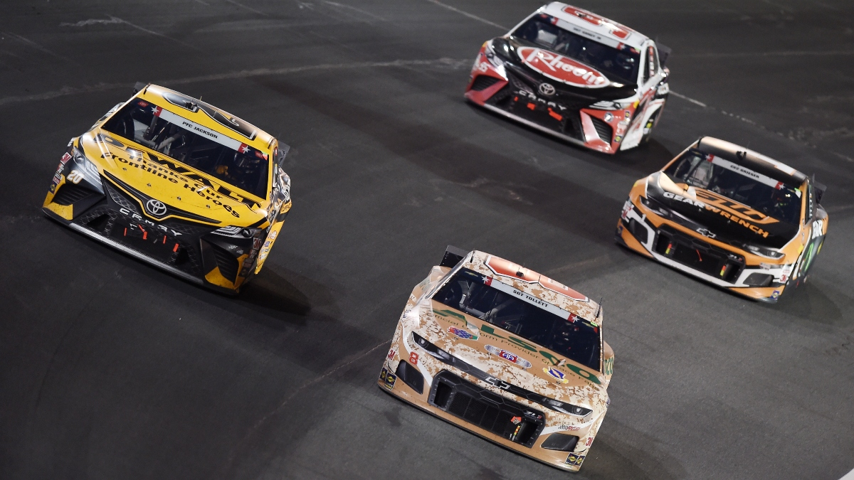 NASCAR at Charlotte Odds, Best Bet Pick: The Plus-Money Prop Offering Value for Thursday's Alsco Uniforms 500 article feature image