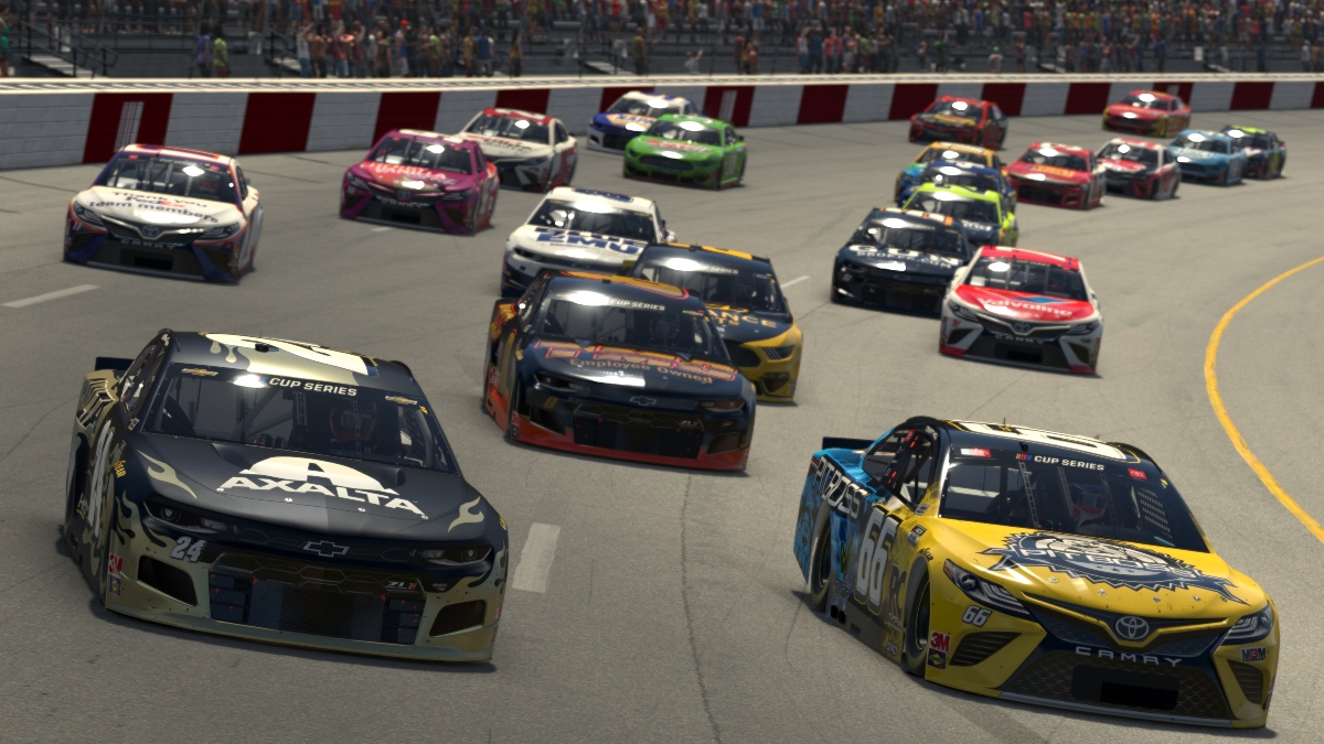 NASCAR iRacing at Dover Odds, Picks: The Finish Line 150 Driver Sharps Are Betting article feature image
