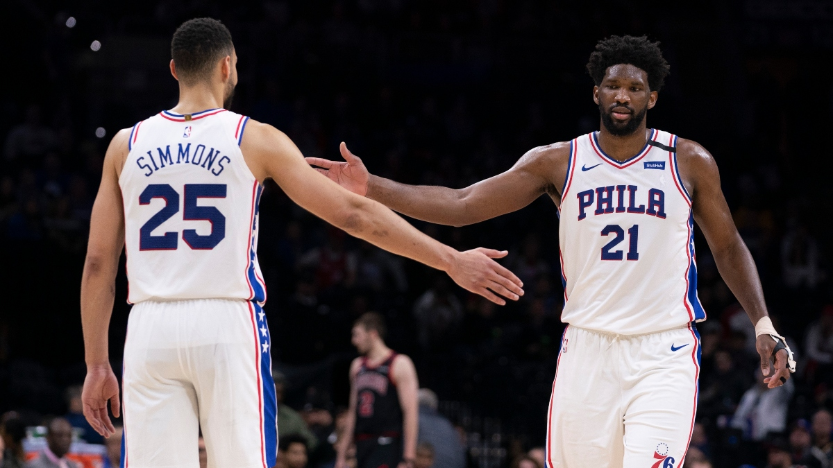 The Betting Impact of Ben Simmons' Knee Injury: More Sixers Overs, Embiid 3's article feature image