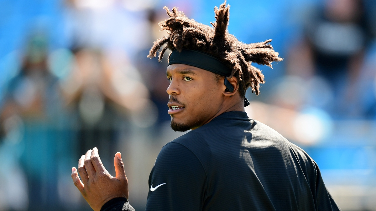 Cam Newton Boosts Patriots Super Bowl Chances, Playoff Hopes, More Model Projections article feature image