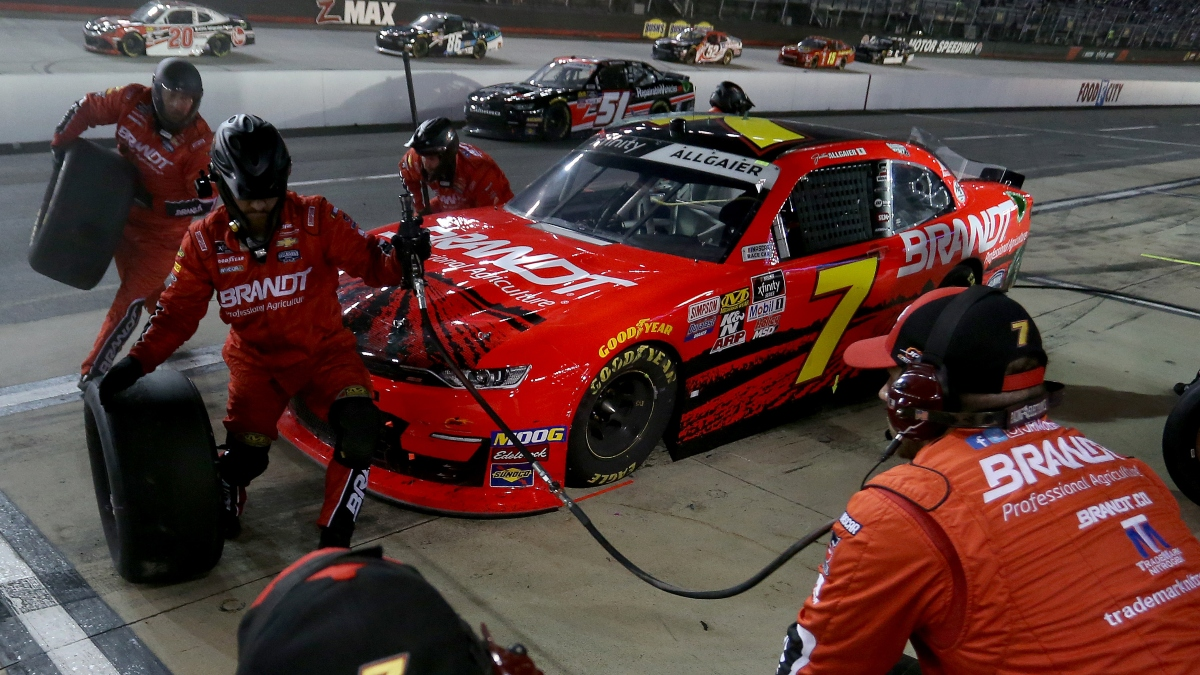 NASCAR Cheddar's 300 at Bristol Odds, Best Bets: 3 Picks for Monday Night's XFINITY Series Race article feature image