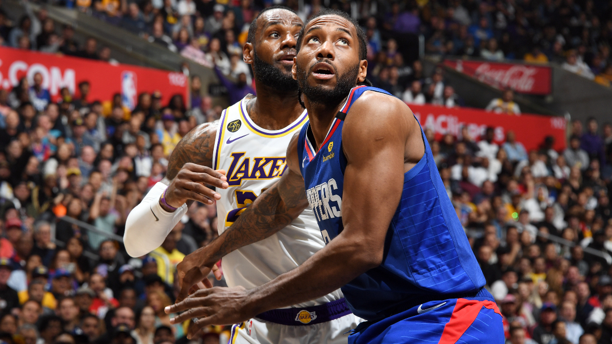 Bookmaker: Lakers Would Be Favored vs. Clippers in L.A. Series, But Not in Orlando article feature image