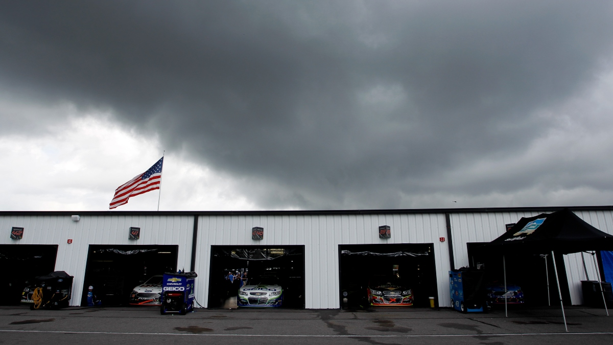 NASCAR Pocono 350 Weather Forecast: Will Rain Delay Sunday's Cup Race at Pocono? article feature image