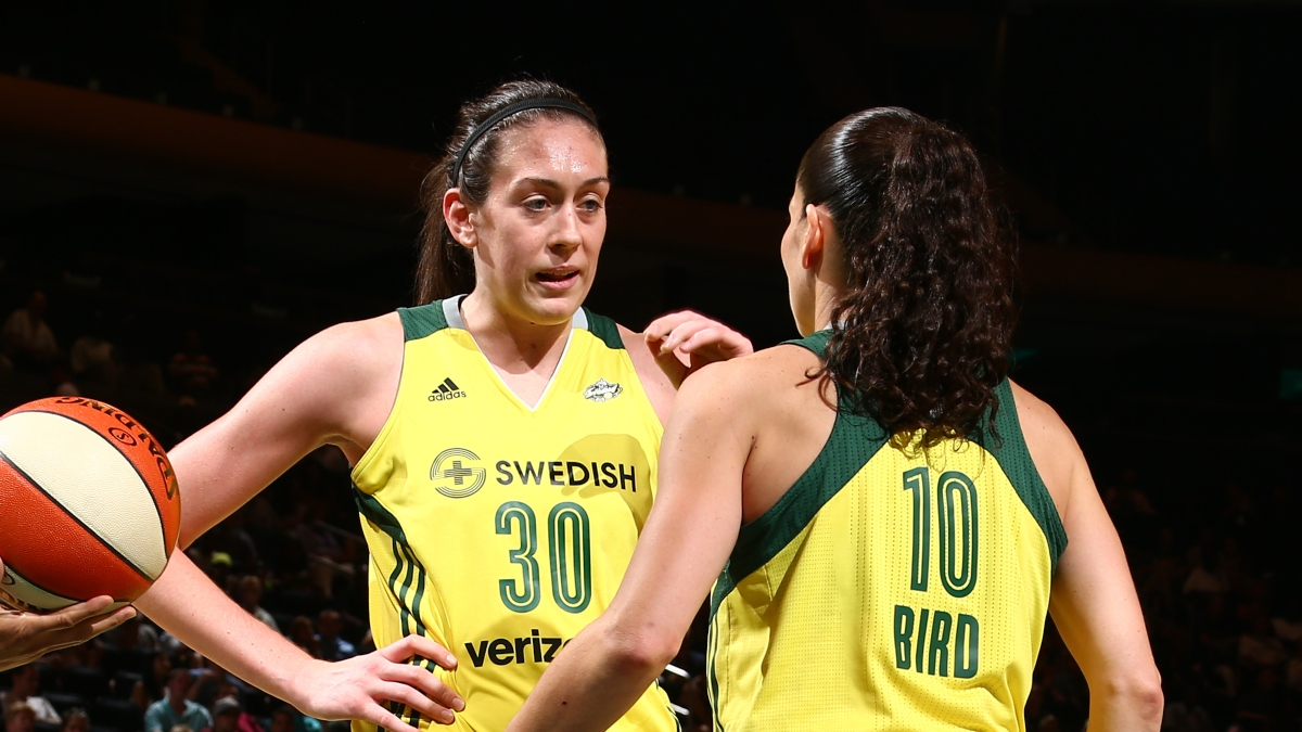 WNBA Championship Odds: Mystics, Storm & Sparks Tip-Off 2020 As Co-Favorites article feature image