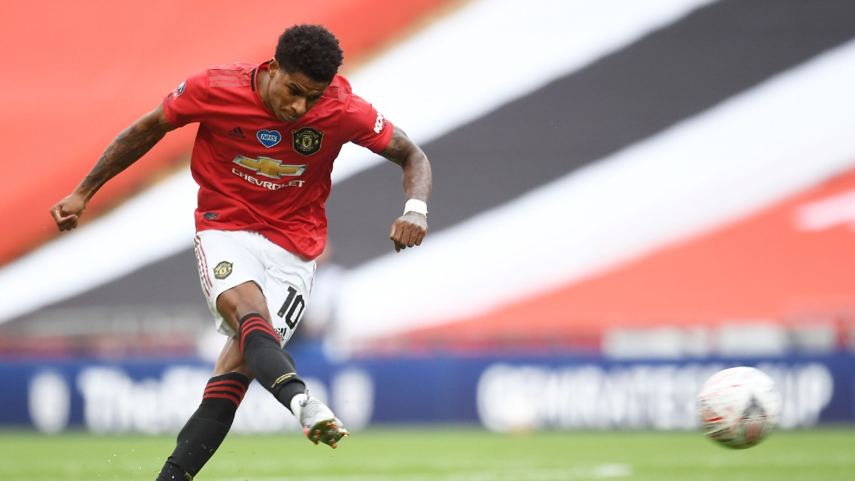 Wednesday Premier League Odds, Picks, Predictions: Manchester United vs. West Ham Preview (July 22) article feature image