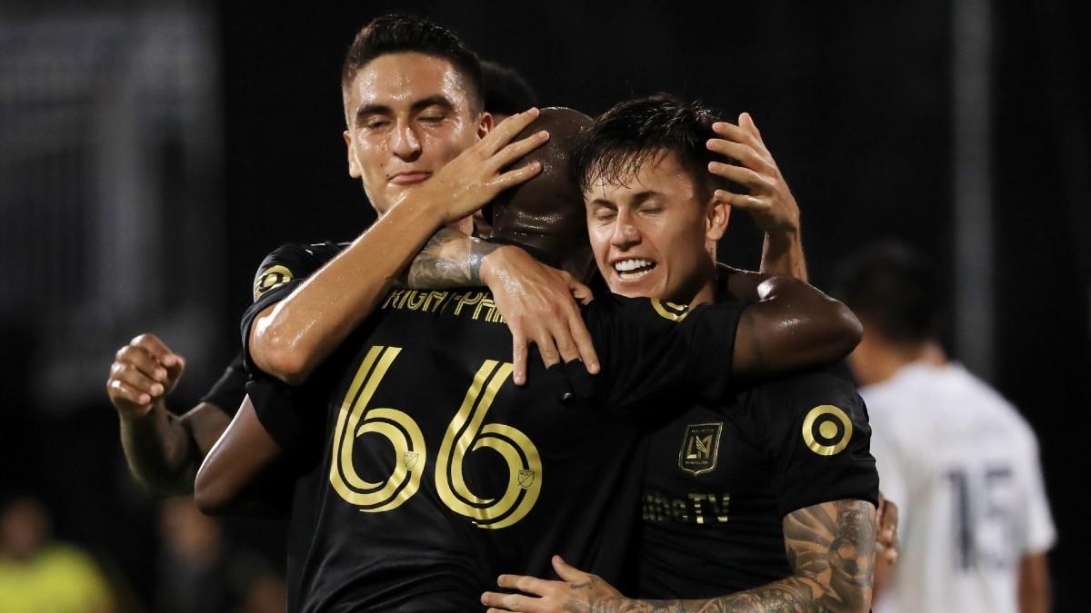 MLS Odds, Betting Picks & Predictions (Thursday, July 23): LAFC vs. Portland, LA Galaxy vs. Houston article feature image