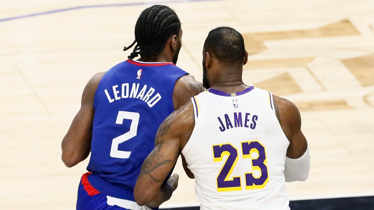 NBA Title Betting Odds & Picks: Debating the Clippers vs. the Lakers article feature image