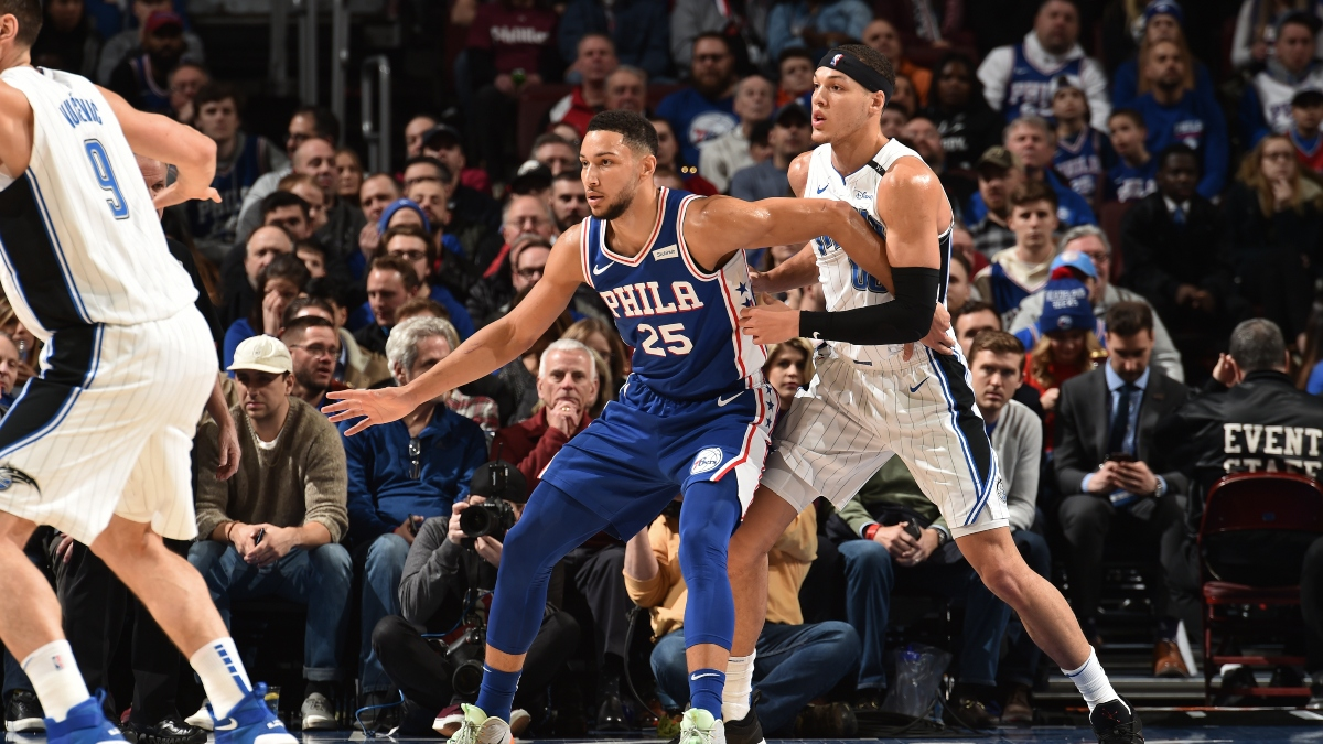 NBA Win Total Betting Odds: Unleashing Ben Simmons as a Power Forward Creates Value on 76ers article feature image