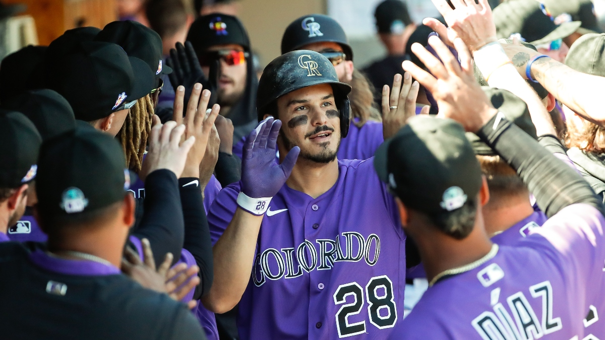 Sharp MLB Picks: How Pros Are Betting Rockies vs. Rangers article feature image