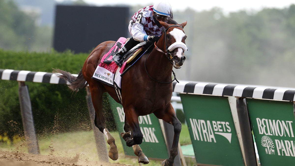 Horse Racing Picks for Saturday, July 4: Best Bets for Belmont Park, Including the Runhappy Met Mile article feature image