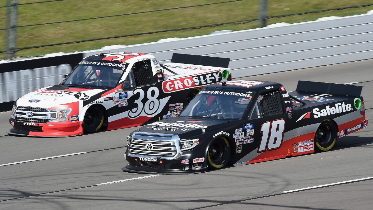 NASCAR Truck Series at Kentucky Odds, Picks: 2 Favorite Bets for Saturday's Buckle Up Your Truck 225 article feature image