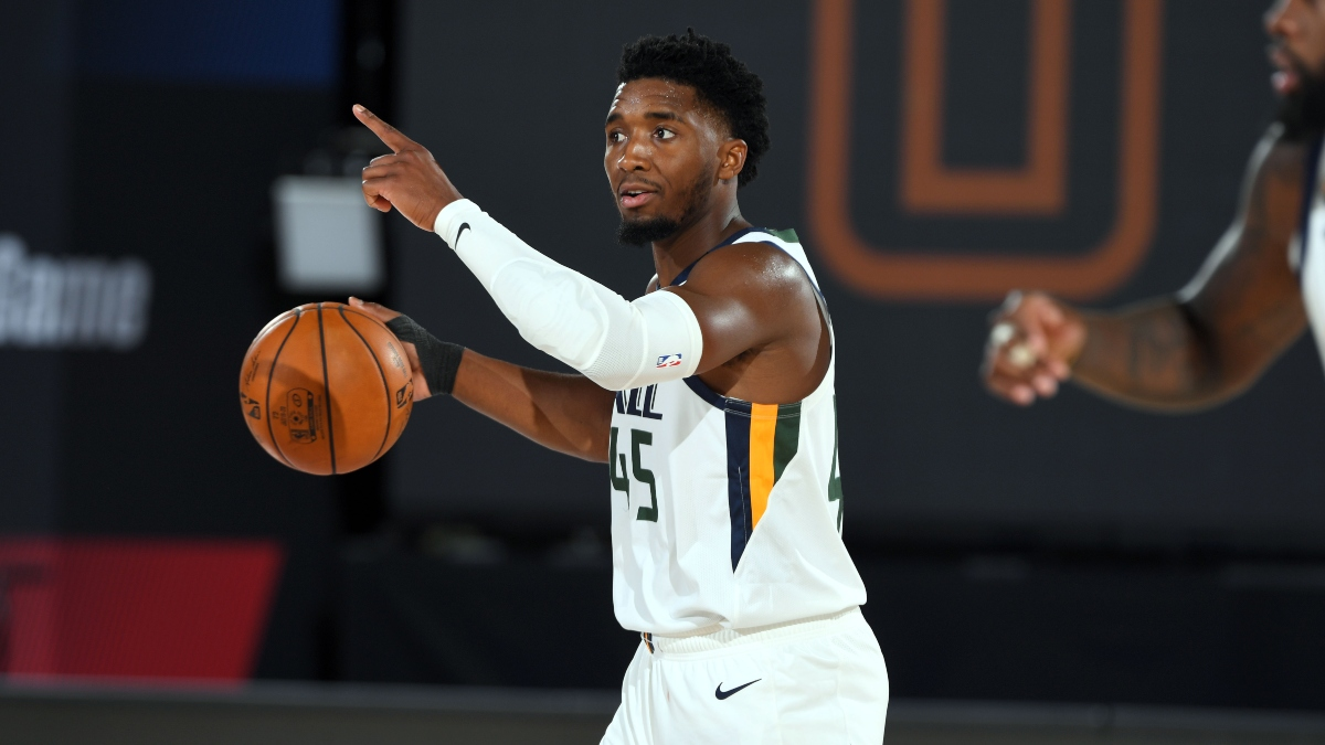 NBA Sharp Betting Pick (Thursday, July 30): Utah Jazz vs. New Orleans Pelicans article feature image