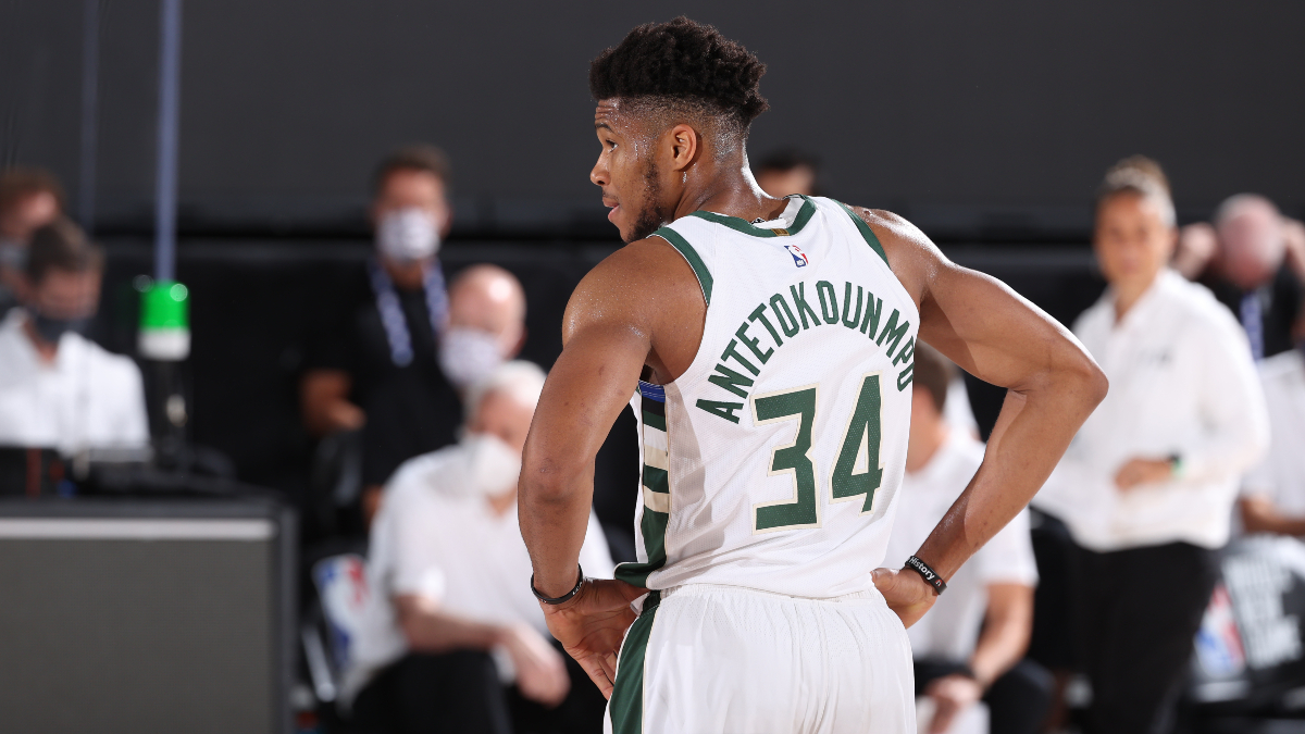 NBA Win Total Betting Odds: The Bucks Are the Best Team and Biggest Headache article feature image