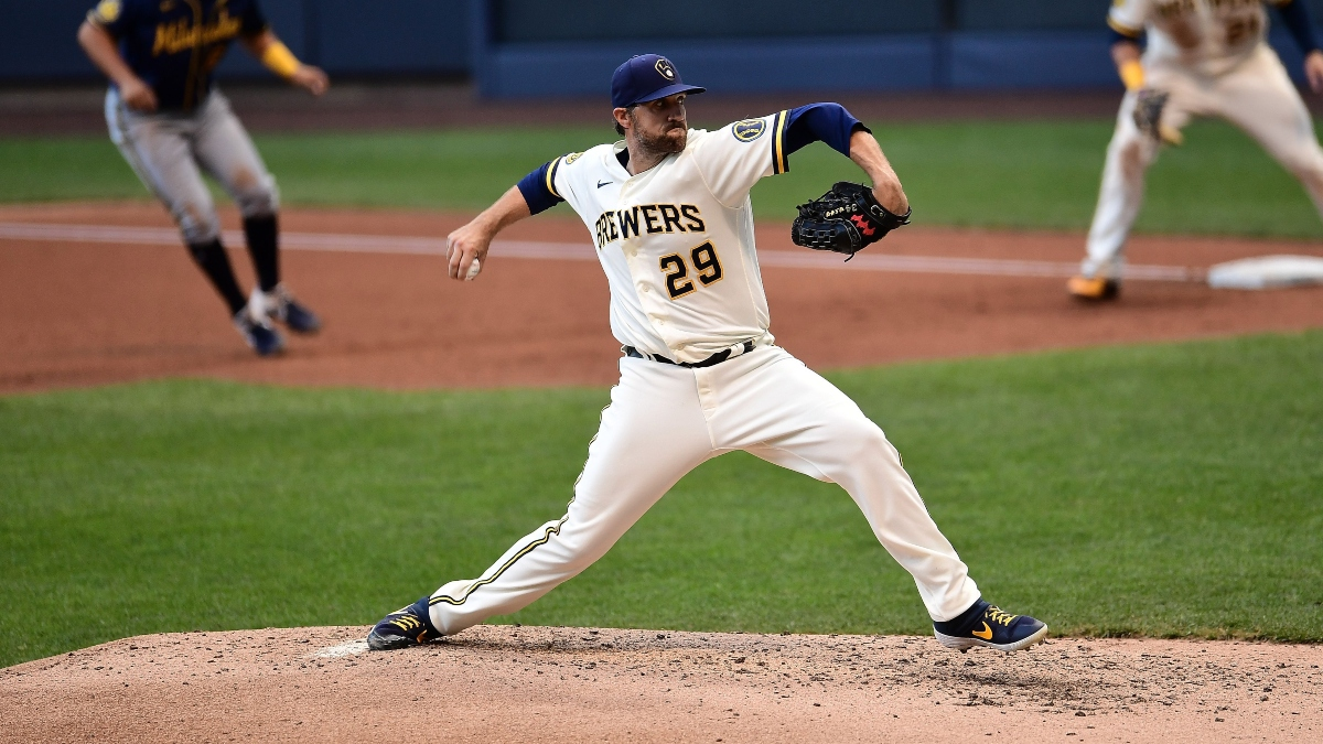 Brewers vs. Pirates Sharp Pick: Pros Betting Milwaukee On Tuesday Night article feature image