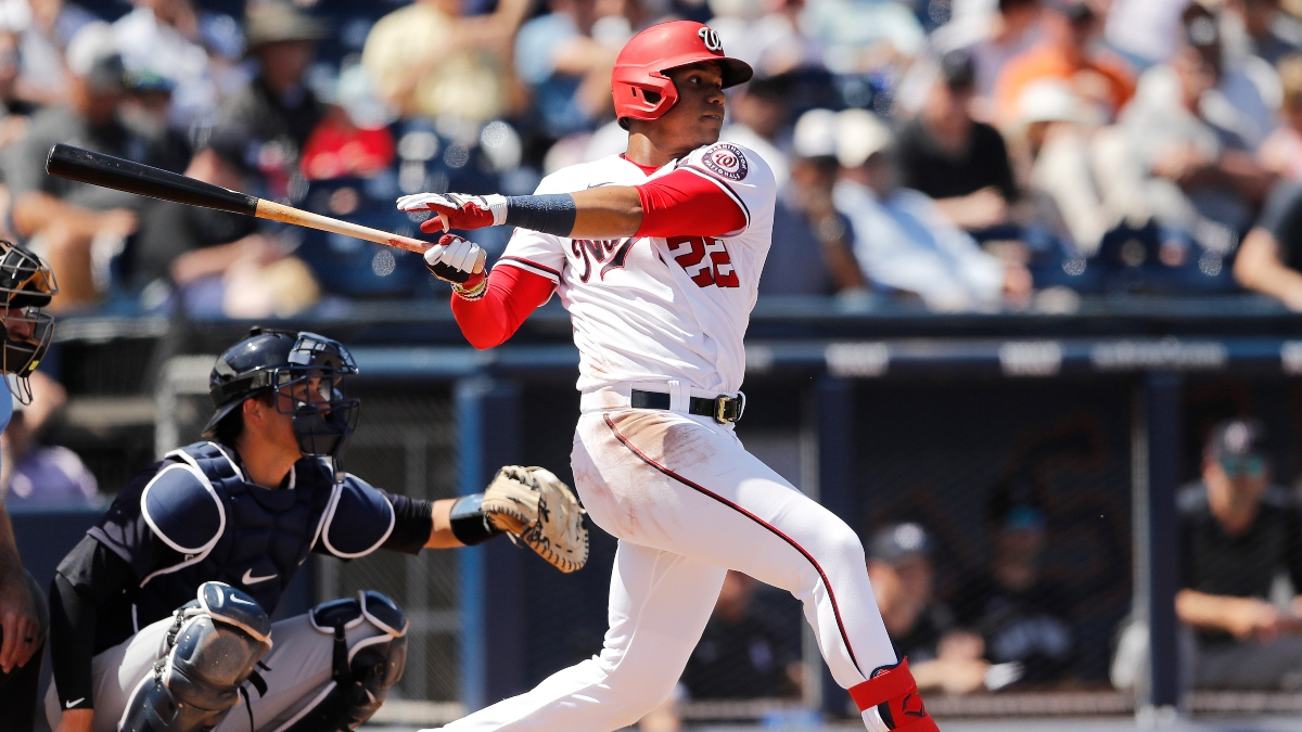 Juan Soto Tests Positive for COVID-19: Updated Yankees vs. Nationals Betting Odds article feature image