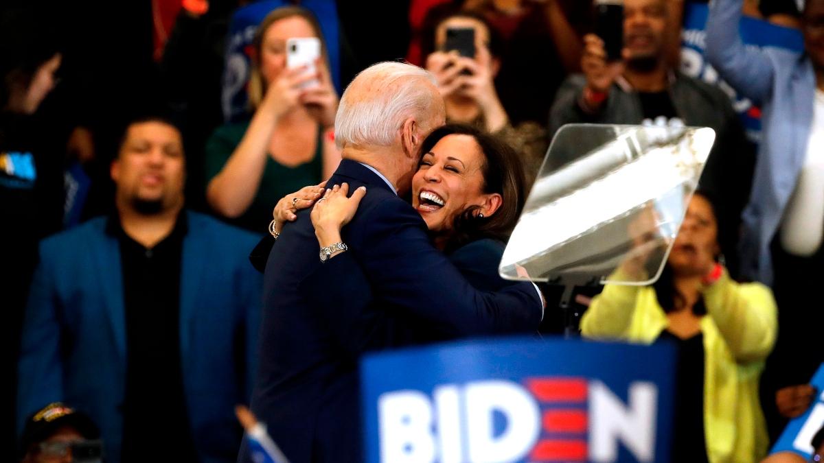 VP Betting Odds: Joe Biden Picks Kamala Harris to Be His Vice President article feature image