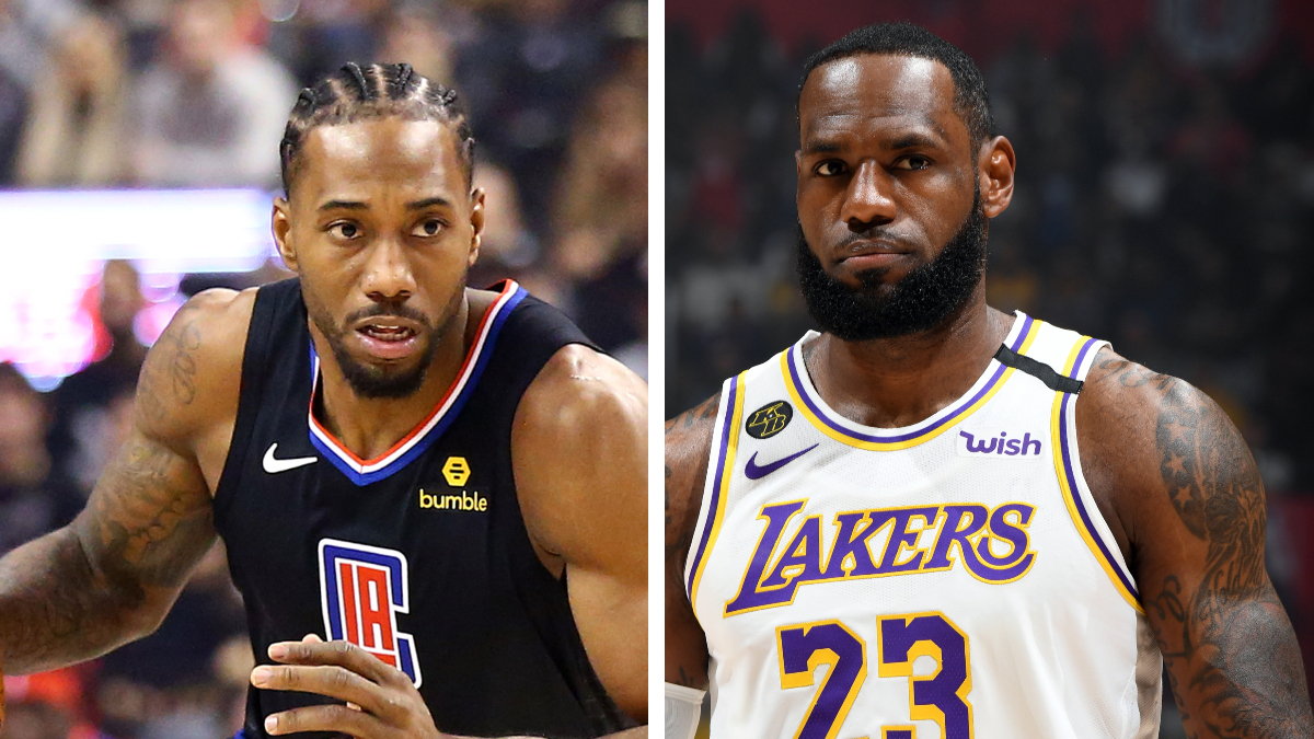 NBA Betting Odds & Picks: Clippers Are Undervalued vs. Lakers article feature image
