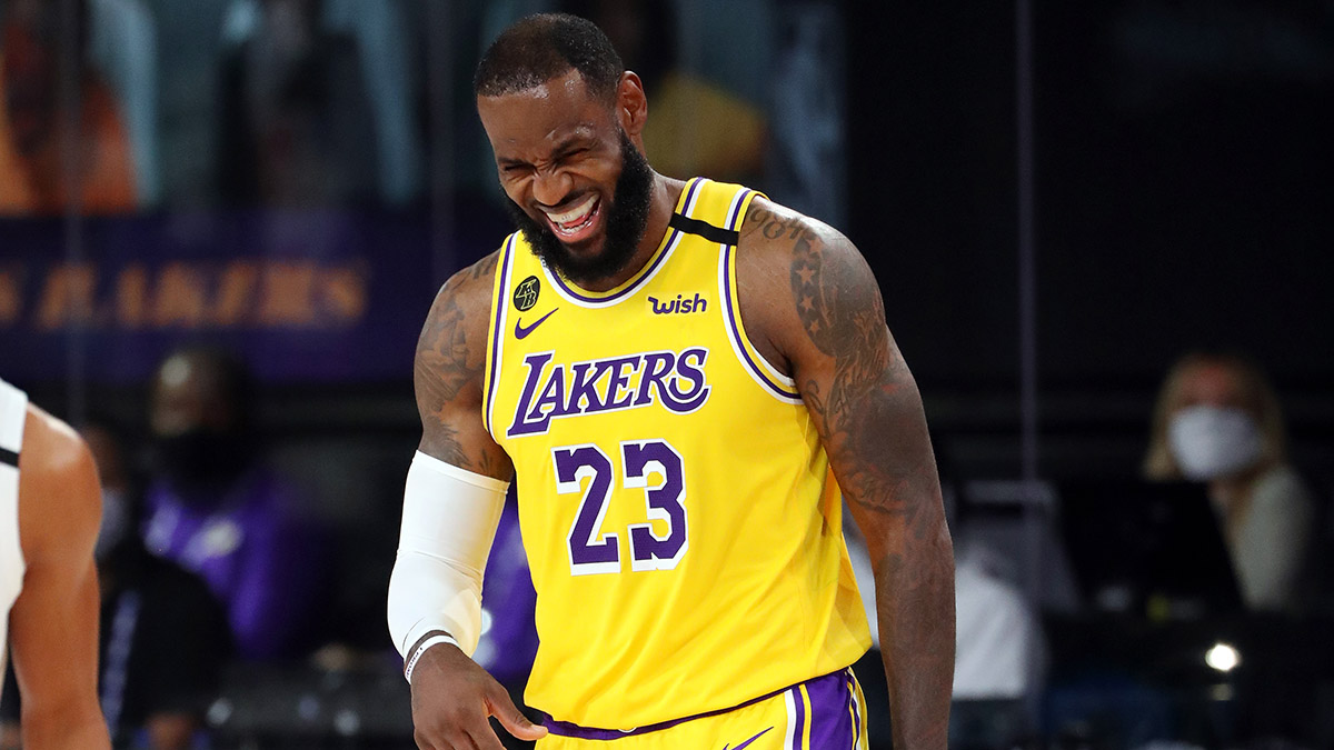 Saturday NBA Odds, Picks & Promotions: $225 in No-Brainer Promos for Lakers, Blazers & Rockets (August 29) article feature image