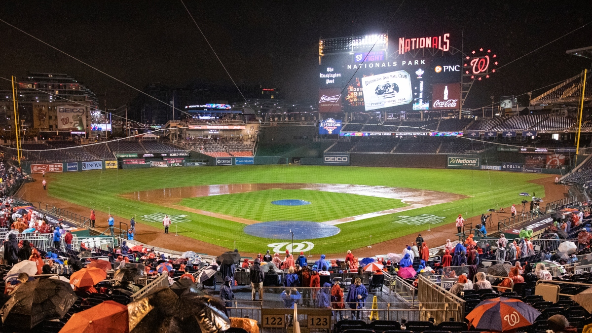 Yankees Vs Nationals Weather Forecast Will Washington D C Rain Delay Thursday Night S Opening