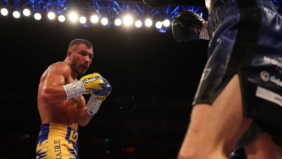 Updated Vasiliy Lomachenko vs. Teofimo Lopez Jr. Boxing Odds, Props & Schedule: Loma Favored In Lightweight Unification Bout article feature image
