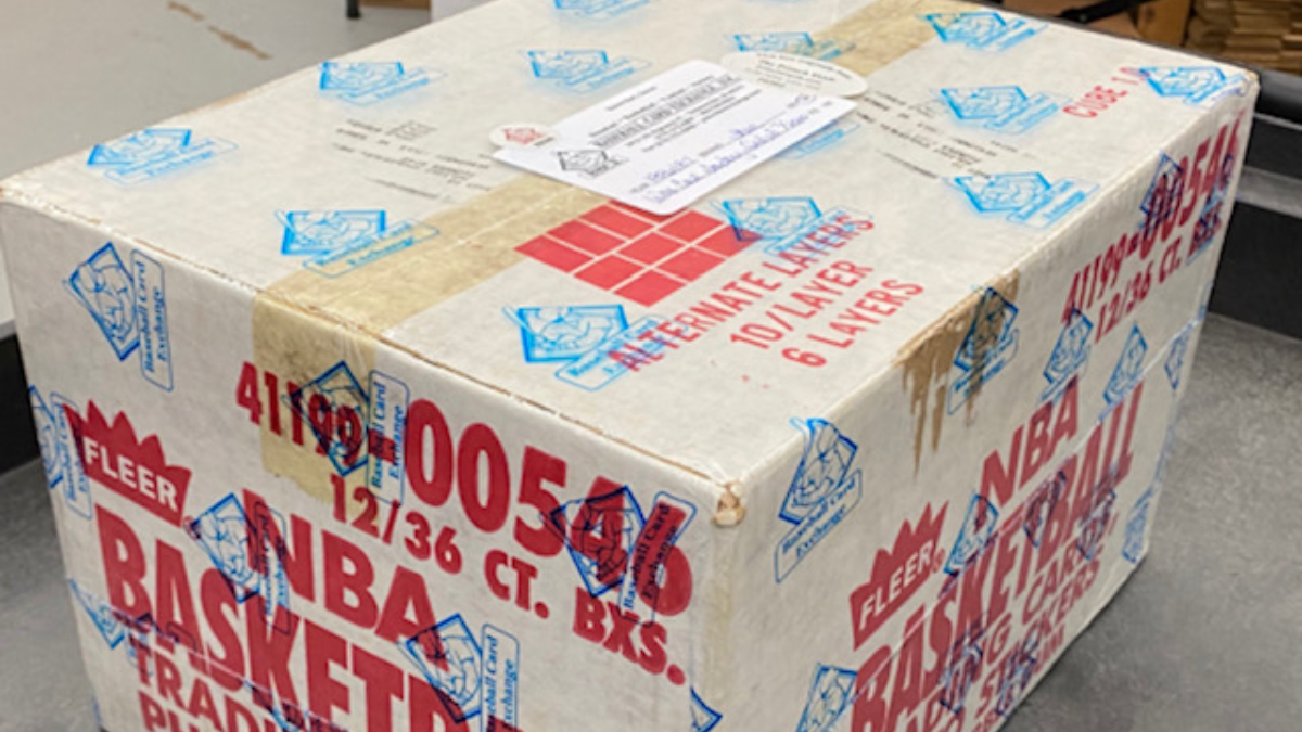 1986-87 Fleer Basketball Case Sells for Record-Breaking $1.78 Million article feature image