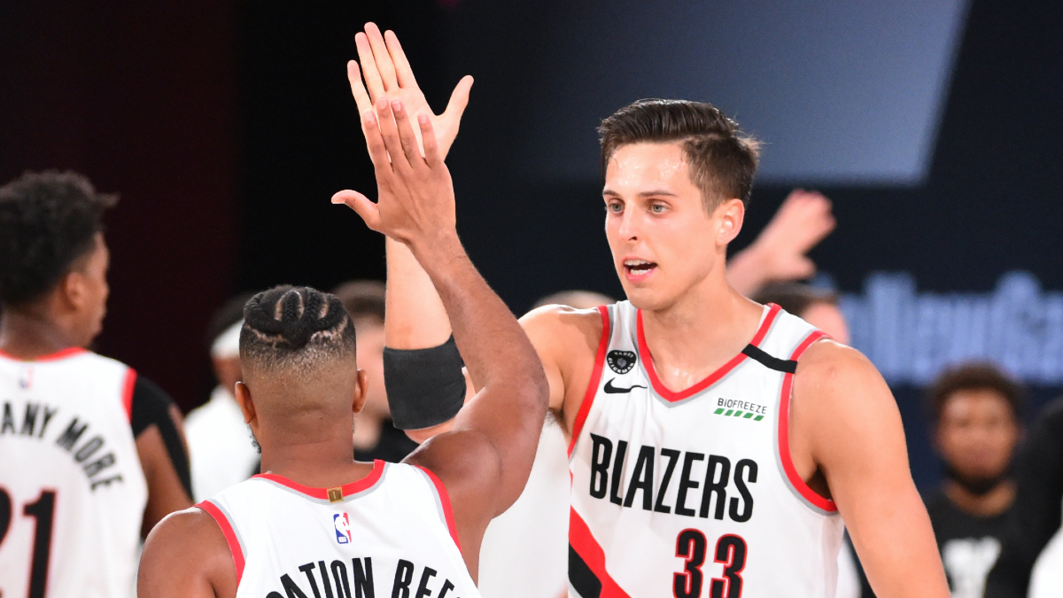 NBA Player Props Odds, Picks: How to Bet Zach Collins' Rebounds vs. Nets (Thursday, Aug. 13) article feature image