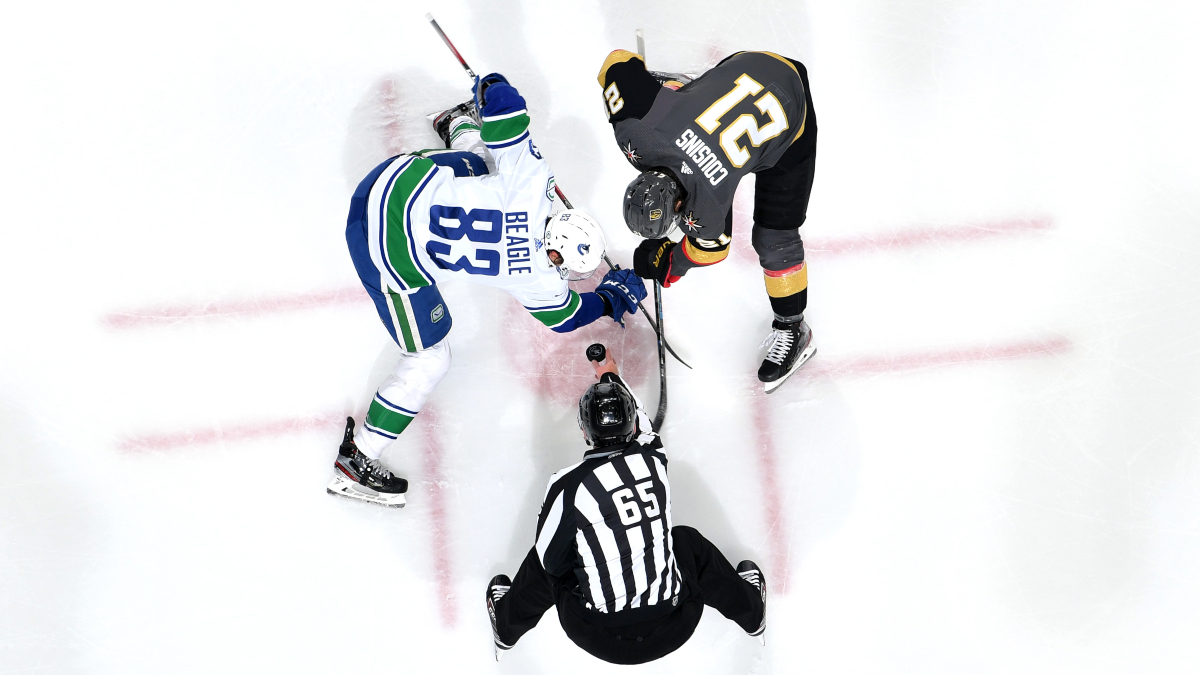 Tuesday NHL Betting Picks: How We're Betting Golden Knights vs. Canucks, Bruins vs. Lightning (August 25) article feature image