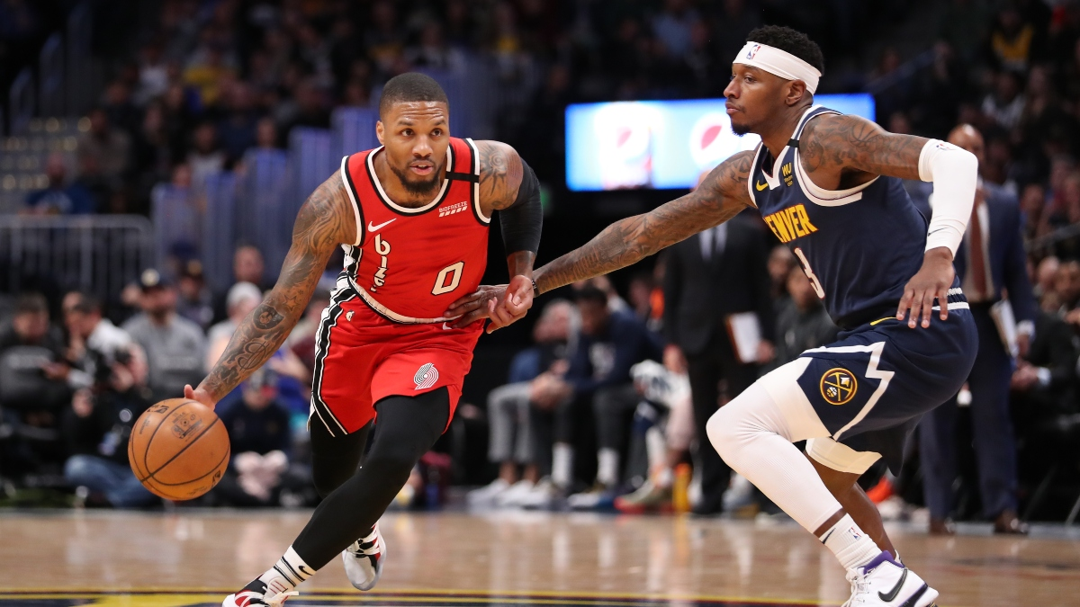 NBA Betting Odds, Picks and Predictions: Blazers vs. Nuggets (Thursday, August 6) article feature image