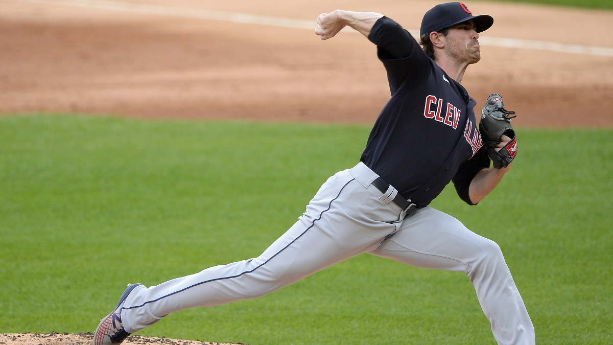 Indians vs. Pirates Odds & Pick: Dare To Fade Shane Bieber? article feature image