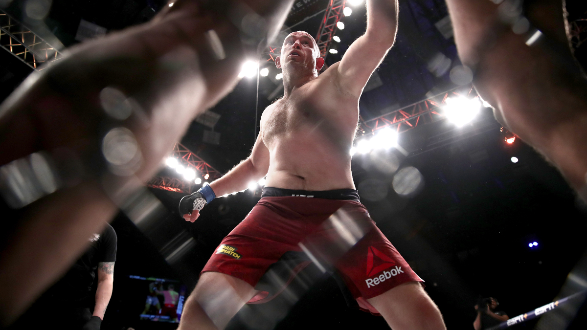 UFC Betting Picks & Predictions: Our Best Bets for Andrew Sanchez-Wellington Turman and Derrick Lewis-Aleksei Oleinik article feature image