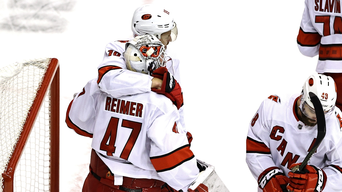 Hurricanes vs. Bruins Odds, Picks & Predictions: Betting Preview for Saturday's Game 3 article feature image