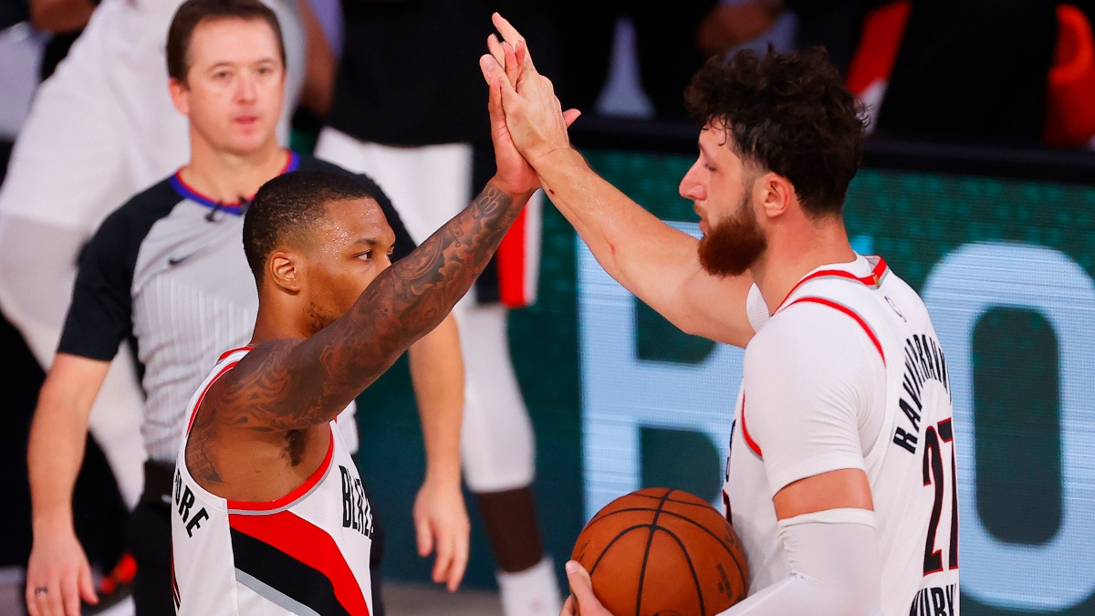 NBA Odds, Betting Picks & Predictions: Trail Blazers vs. Nets (Thursday, Aug. 13) article feature image