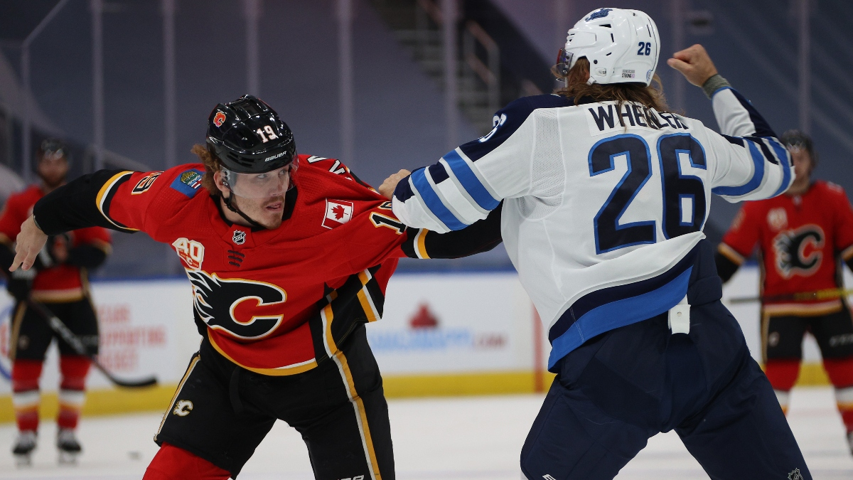 Monday NHL Odds, Betting Picks & Predictions: Winnipeg Jets vs. Calgary Flames (August 3) article feature image