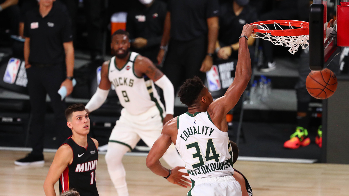 NBA Odds and Picks: Betting Predictions for Bucks vs. Mavericks (Saturday, August 8) article feature image
