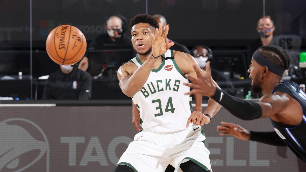 NBA Playoffs Betting Odds, Picks & Predictions: Heat vs. Bucks Game 1 (Monday, Aug. 31) article feature image