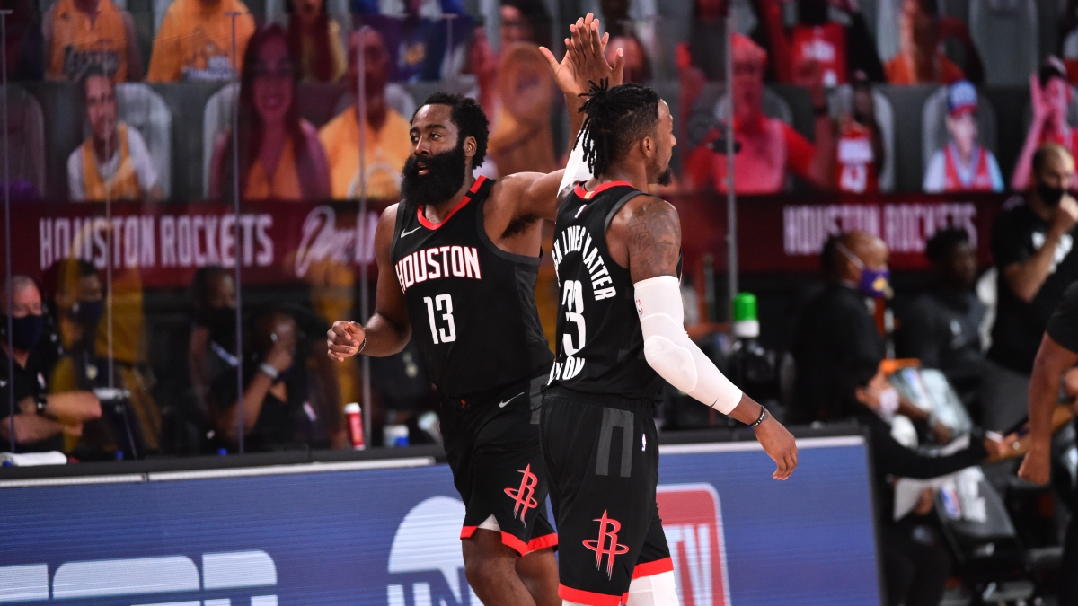 NBA Betting Odds, Picks and Predictions: Rockets vs. Kings (Sunday, August 9) article feature image