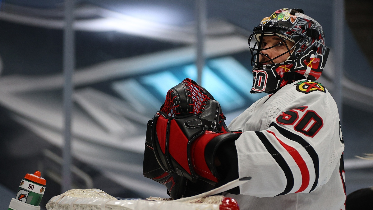 NHL Betting Odds, Picks & Predictions: Golden Knights vs. Blackhawks Game 2 Preview (Thursday, August 13) article feature image