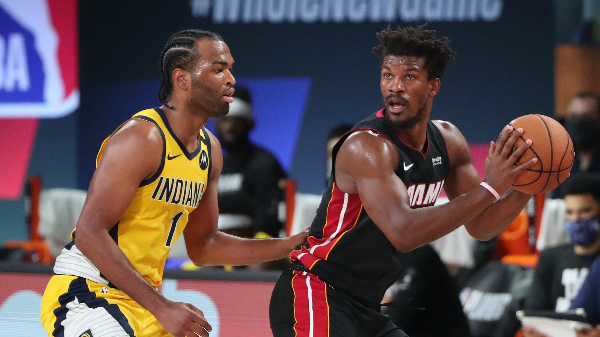 NBA Playoffs Betting Odds, Picks & Predictions: Heat vs. Pacers Game 2 (Thursday, Aug. 20) article feature image