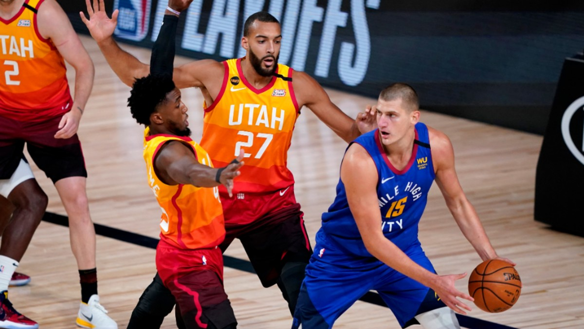 Sunday NBA Player Prop Bets & Picks: Rudy Gobert vs. Nikola Jokic and More (August 23) article feature image