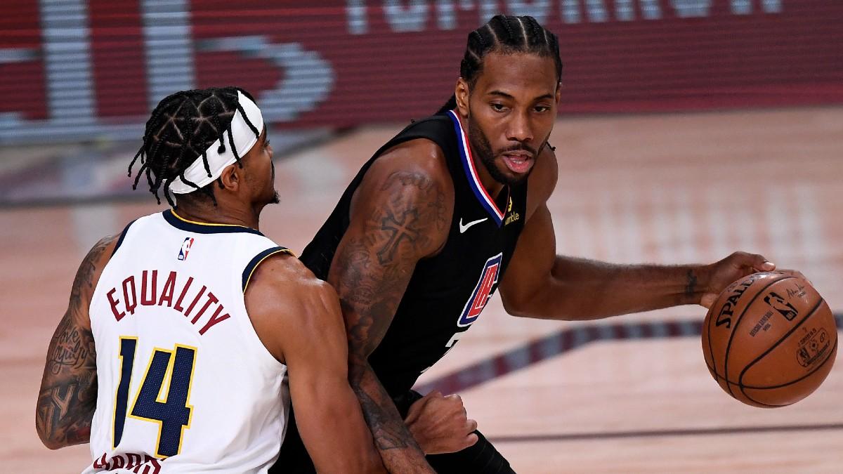 Monday NBA Player Prop Bets & Picks: Fade Kawhi's Scoring (Sept. 7) article feature image