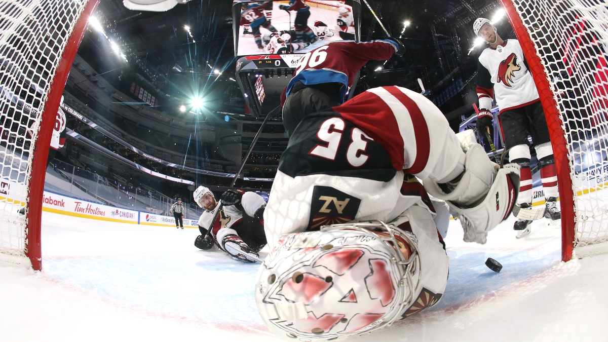 Avalanche vs. Coyotes Game 2 Odds & Pick (Friday, August 14): Arizona's Price is Getting Out of Hand article feature image