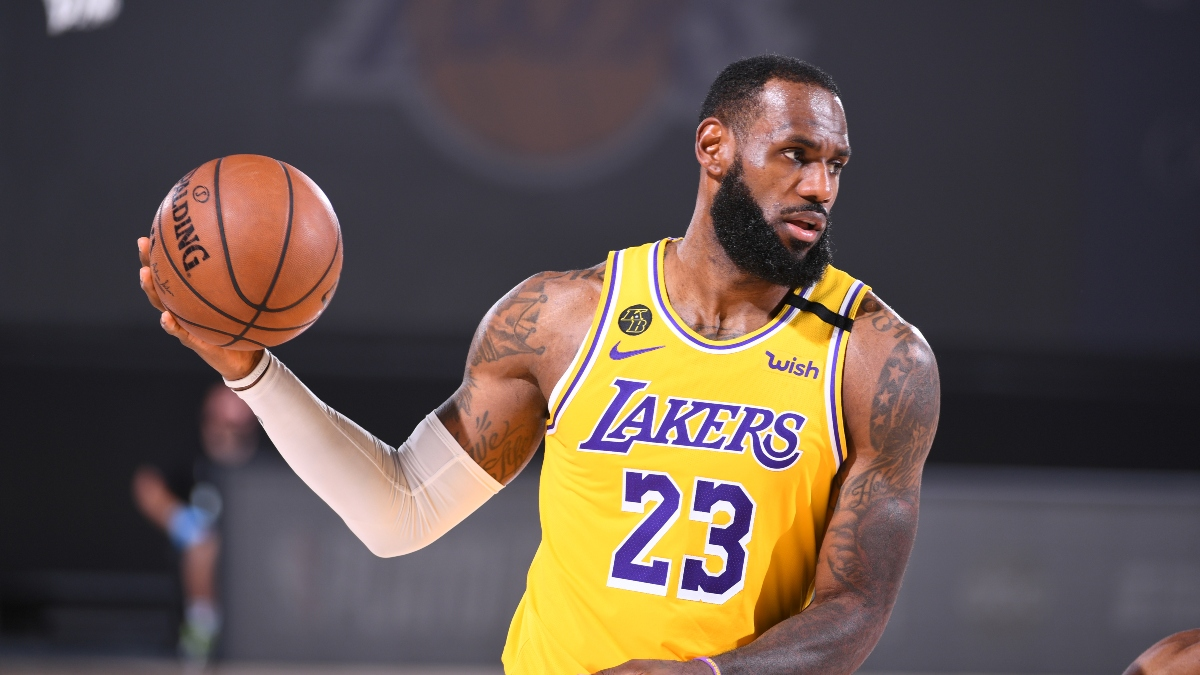 Lakers vs. Blazers Game 1 Betting Odds, Picks & Predictions (Tuesday, August 18) article feature image
