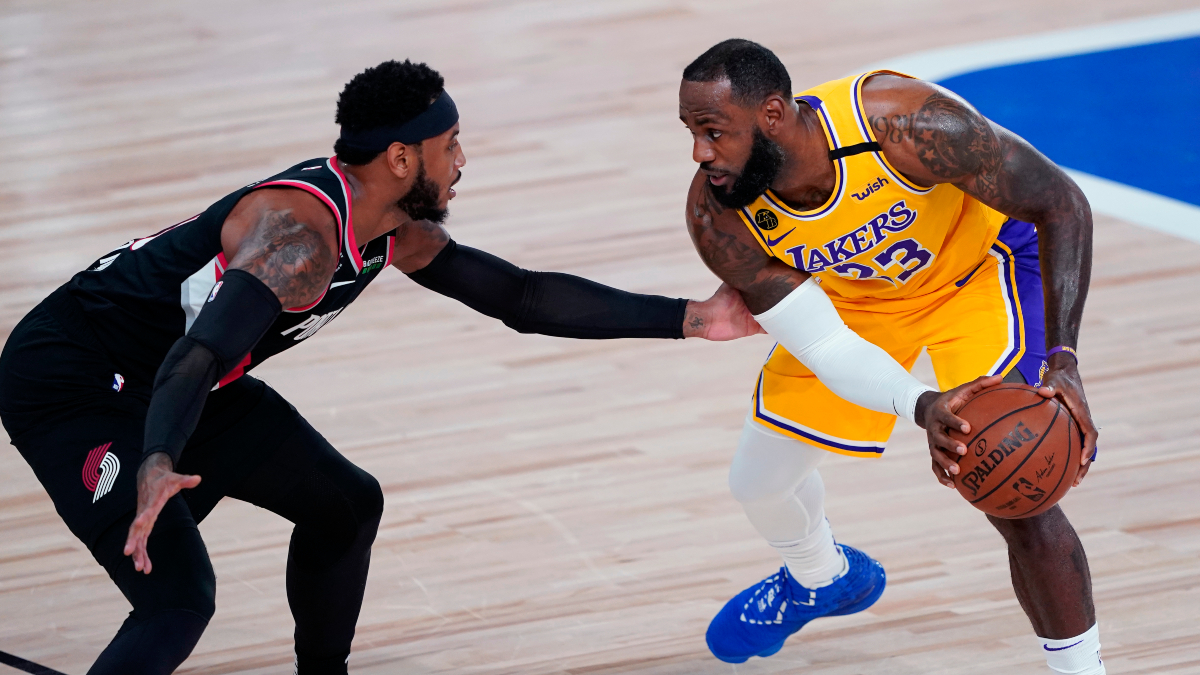 Thursday NBA Betting: Odds, Picks & Predictions for Blazers vs. Lakers Game 2 (Aug. 20) article feature image